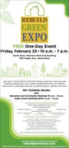 Rebuild Green EXPO 2018 Sonoma Gives