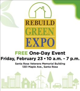 Rebuild Green EXPO 2018 Sonoma Gives